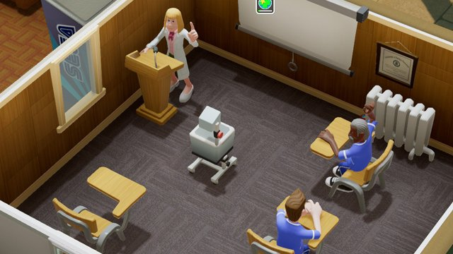 Two Point Hospital Training