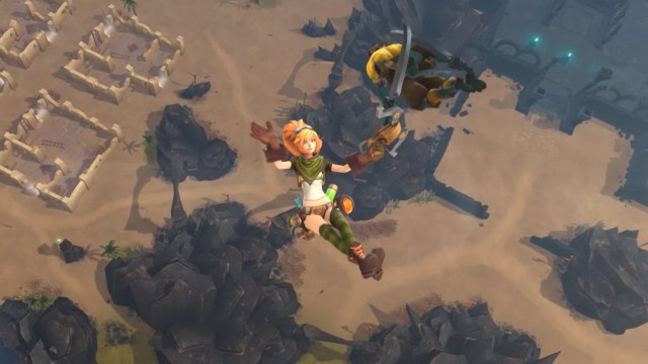 Battlerite Royale Gameplay Trailer Reveals A Moba And Battle
