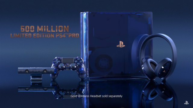 Limited Edition PS4 Pro 500 Million