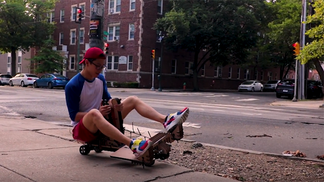 Turn an old electric skateboard into a working Mario Kart