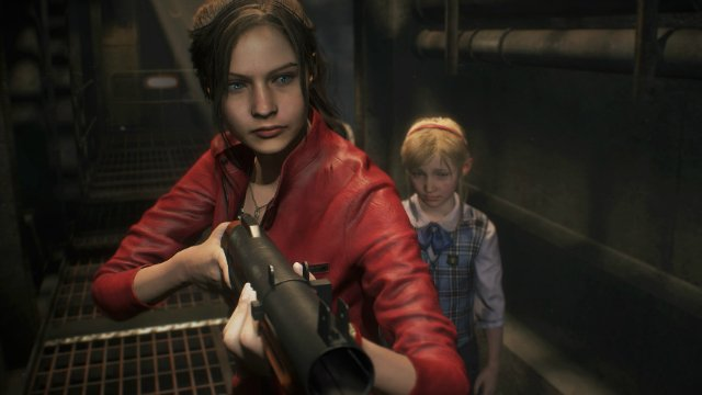 Resident Evil 2 Remake Claire With Grenade Launcher
