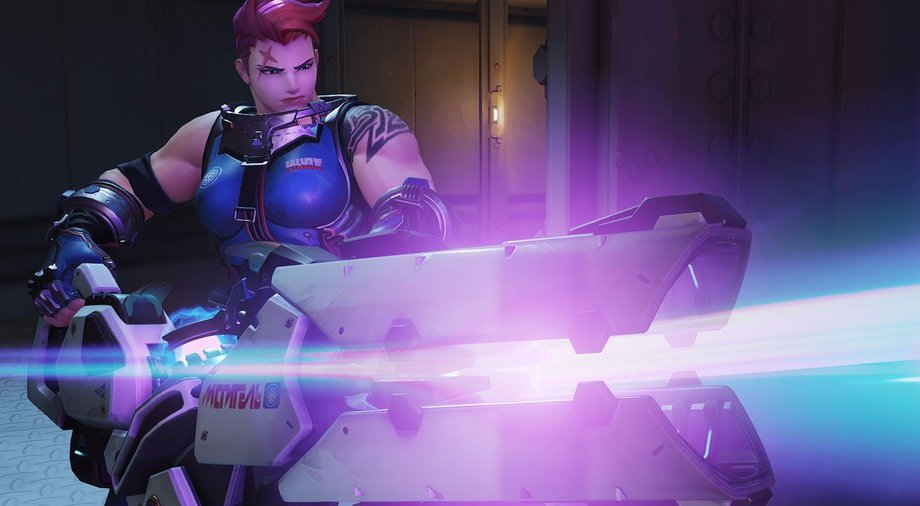 Zarya's Particle Cannon