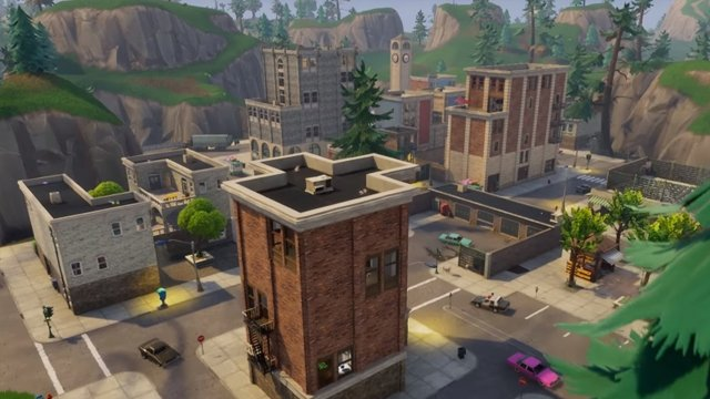 fortnite season 5 best places to land tilted towers