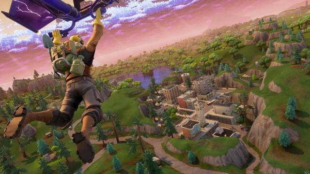 Follow the treasure map found in Dusty Divot