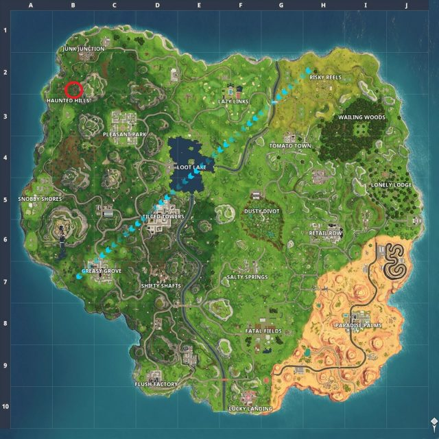 snobby shores map
