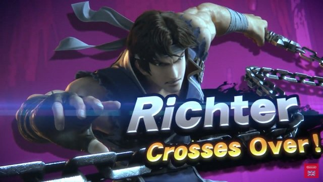 super smash bros ultimate direct richter announced new fighter