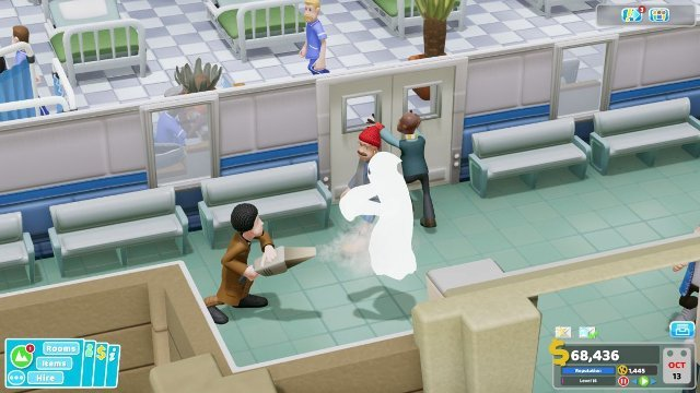 Two Point Hospital Ghosts
