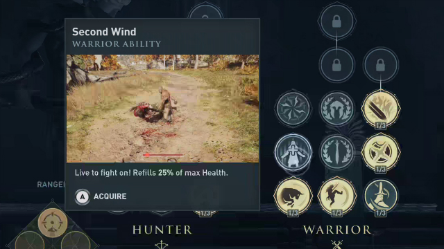 Assassin's Creed Odyssey How to Heal Second Wind
