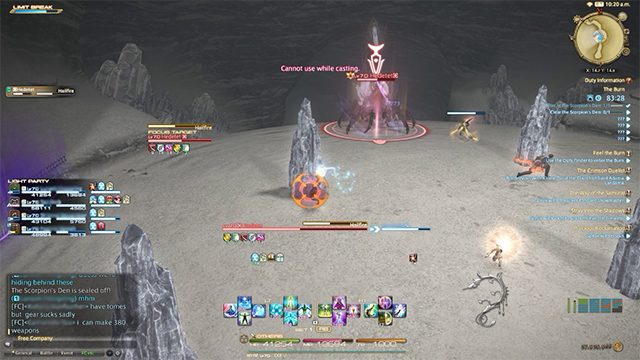 The Burn dungeon guide