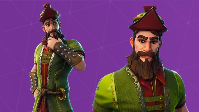 Fortnite Hacivat Skin