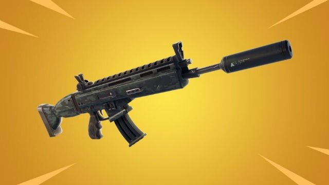 Is the suppressed assault rifle OP?