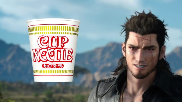 Monster Hunter World Cup Noodles