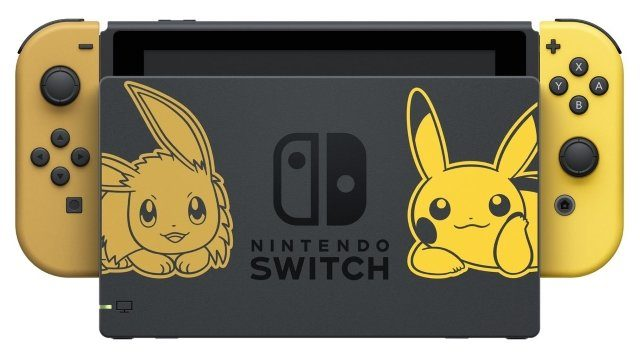 Pokemon Let's Go Switch