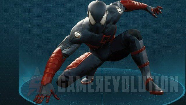 Spider-Man-Electrically-Insulated-Suit