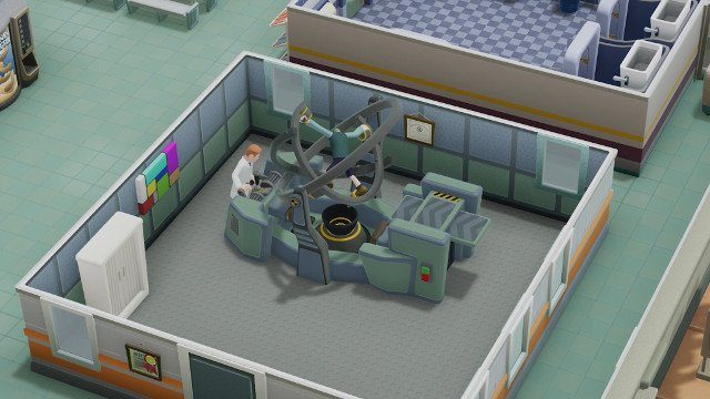 two point hospital review rooms