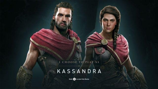 assassin's creed odyssey gender choice