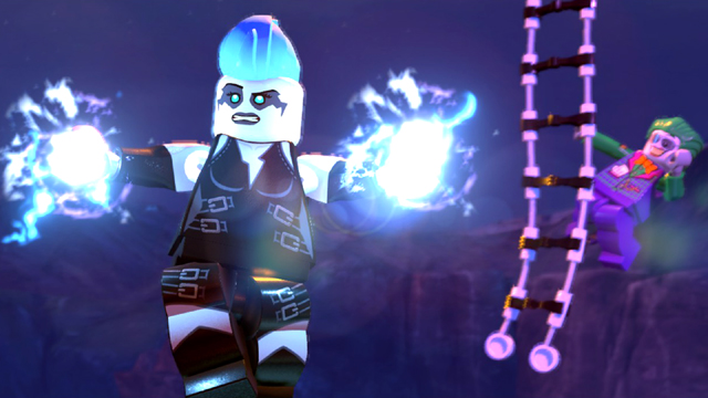 LEGO DC Super Villains flying character