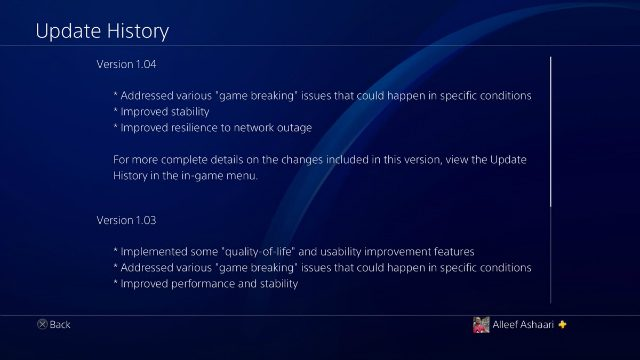 Assassin's Creed Odyssey 1.04 Update