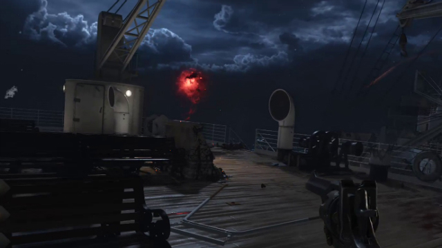 Black Ops 4 Zombies Voyage of Despair 1st Pack-a-Punch Machine