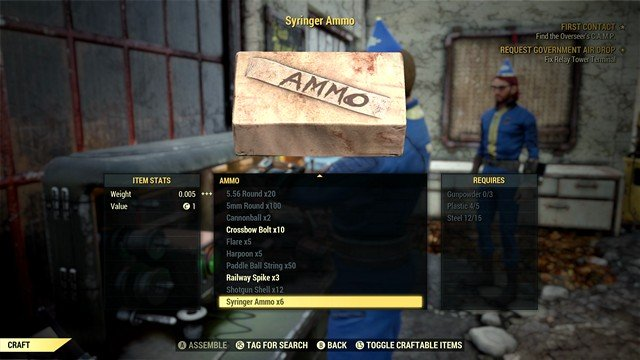 Fallout 76 Crafting