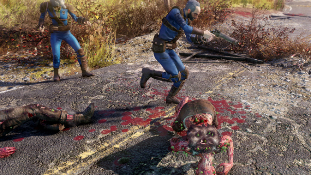 Fallout 76 Teaming Up