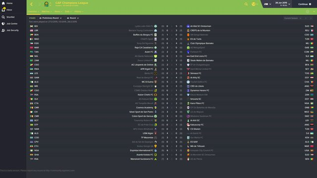 Football Manager 2019 save game freeze