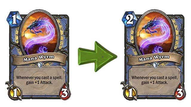 Hearthstone Update 12.3 Patch Notes Mana Wyrm