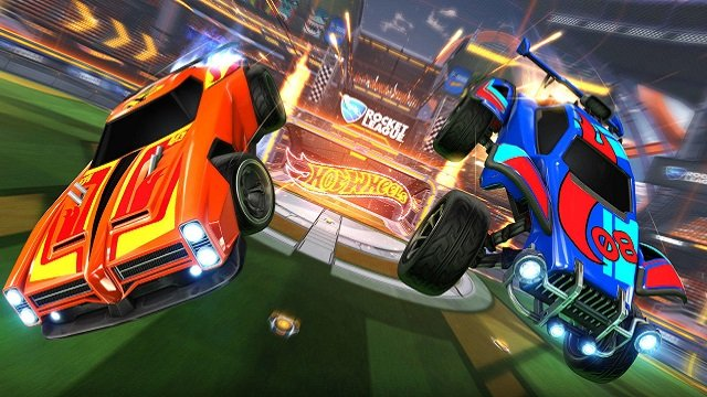 Hot Wheels Rocket League RC Rivals