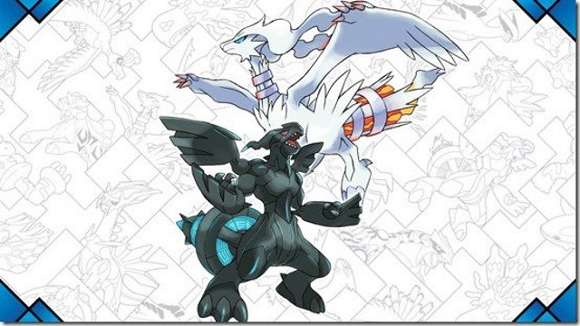 Pokemon Sun and Moon Zekrom Reshiram