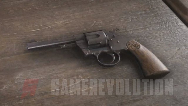 Red Dead Redemption 2 Double-Action Revolver