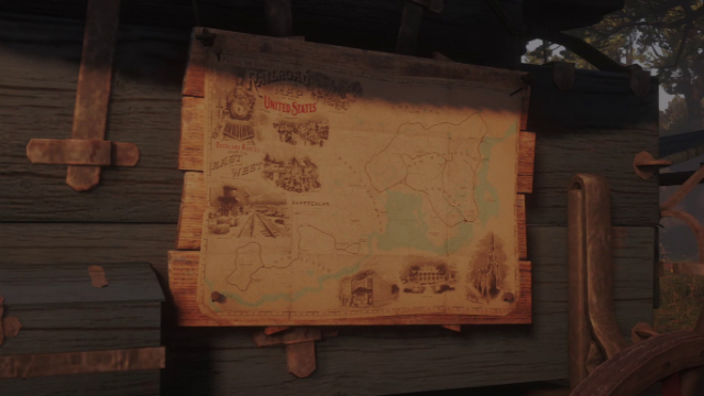 Red Dead Redemption 2 Fast Travel Map Unlock