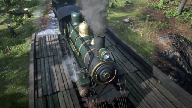Red Dead Redemption 2 Rob a Train or Stagecoach