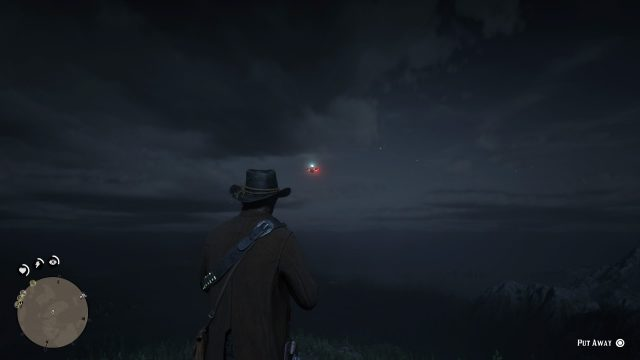 Red Dead Redemption 2 UFO quest