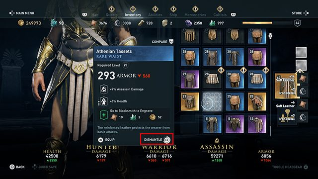 Assassin's Creed Odyssey Maximum Capacity Reached
