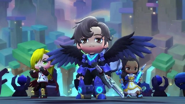 MapleStory 2 downloads reached over 1 million because people like giving characters wings.