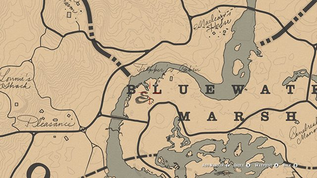 Where to find snakes in Red Dead Redemption 2