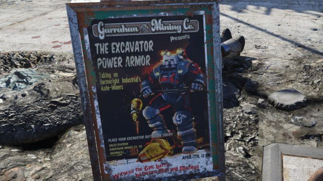 Fallout 76 Excavator Power Armor