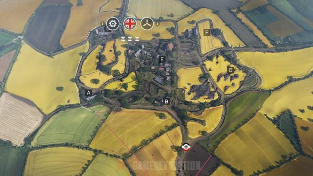 Battlefield 5 Arras Conquest Map Points
