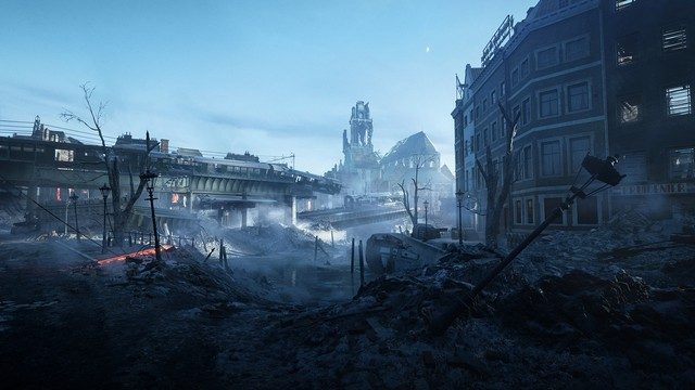 Battlefield 5 Devastation Map