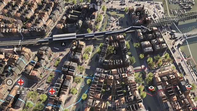 Battlefield 5 Rotterdam Conquest Map Points