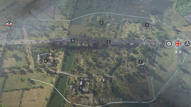 Battlefield 5 Twisted Steel Conquest Map Points