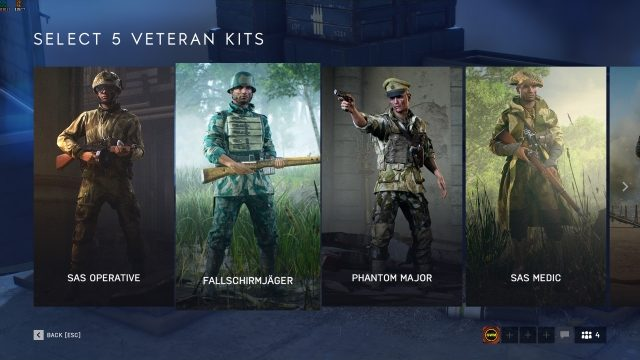Battlefield 5 Veteran Rewards
