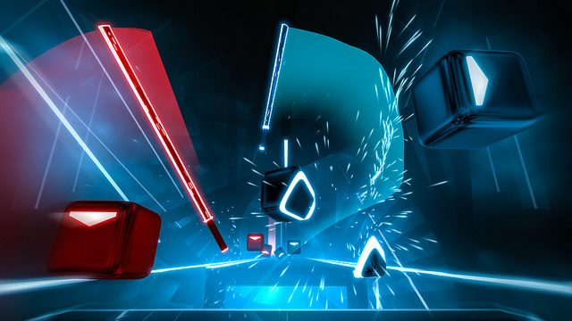 Beat Saber PSVR will be out soon.
