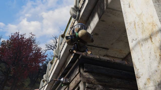 Fallout 76 Camp Budget Turret
