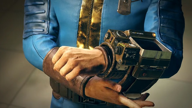 The Fallout 76 Pip-Boy is a lot like the game's engine - old and clunky.
