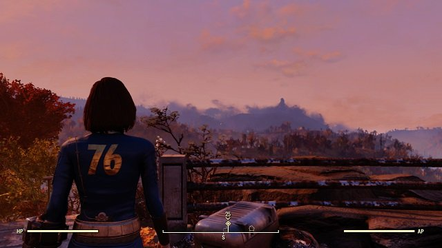 The Fallout 76 PC netcode does not look as good as this screenshot from the beta.