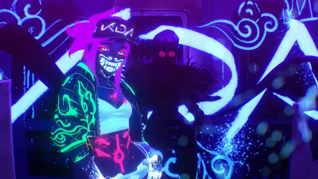 League of Legends KDA Akali and Evelynn.