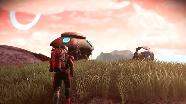 No Man's Sky Visions brings more beauty to the game.