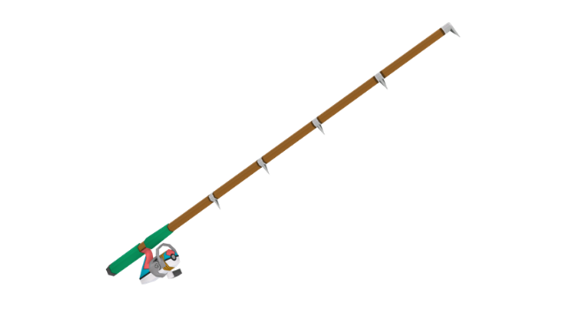 Pokemon Let's Go Fishing Rod