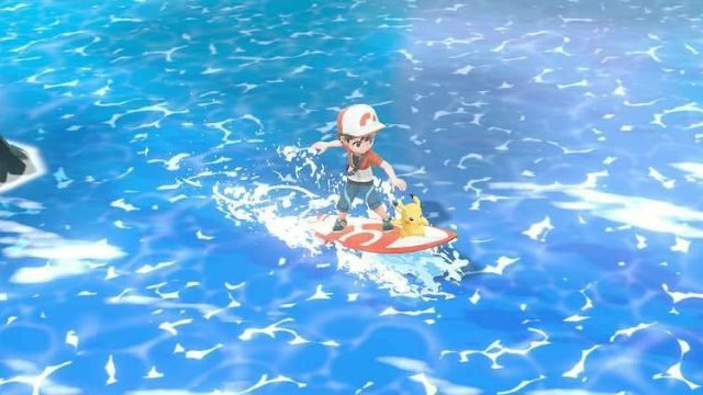 Pokemon Let's Go Fishing Sea Skim